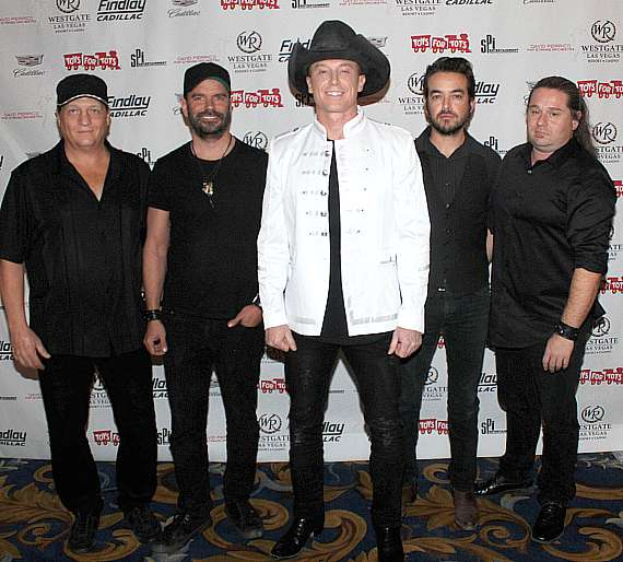 """Sam Riddle at """"Toys for Tots"""" Charity Benefit in Las Vegas"""