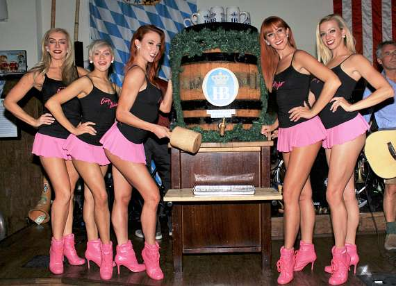 Crazy Girls at Hofbrauhaus Las Vegas