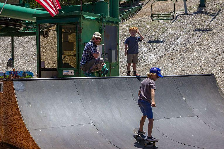 Lee Canyon Opens its Skate Ramp Friday, July 31; Escape the City's Excessive Heat