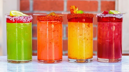Margaritas at Chayo Mexican Kitchen + Tequila Bar. (Photo courtesy of Chayo Mexican Kitchen + Tequila Bar)