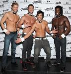 Jaymes Vaughan, James Davis, Ricardo Laguna and Chaun Thomas at the Rio All-Suite Hotel & Casino