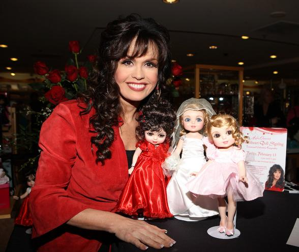 Marie Osmond at Sweetheart Doll Signing event at The Flamingo