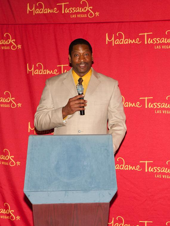 """Rosita Chapman hosted the event and Will Edwards sang """"Lift Every Voice and Sing"""""""