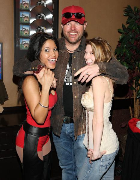 Toby Keith at TK Steelman clothing line launch party at Harrah's