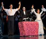 "Andrew Ragone -""Raoul"", Anthony Crivello -""The Phantom,"" and Kristi Holden -""Christine,"""