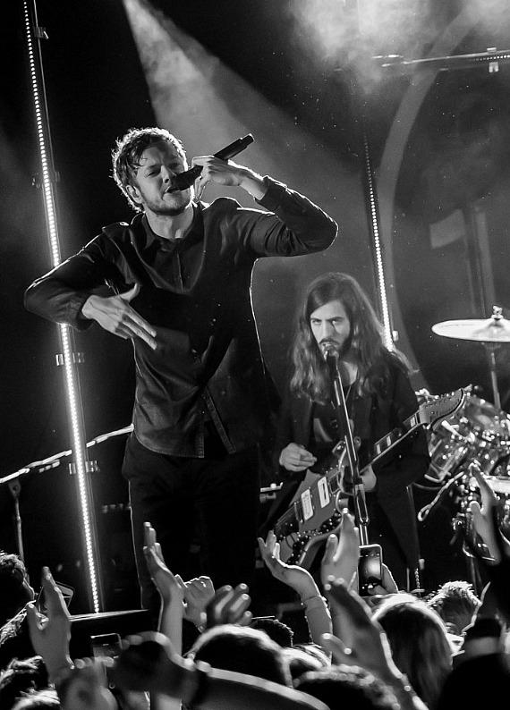 Imagine Dragons perform at Vinyl Las Vegas on their Destinations Dragons Tour