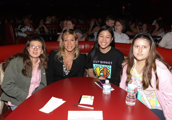 Guests from Best Buddies at Nathan Burton's Comedy Magic Show