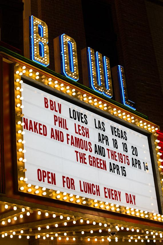 The Naked and Famous perform at Brooklyn Bowl Las Vegas at The LINQ in Las Vegas