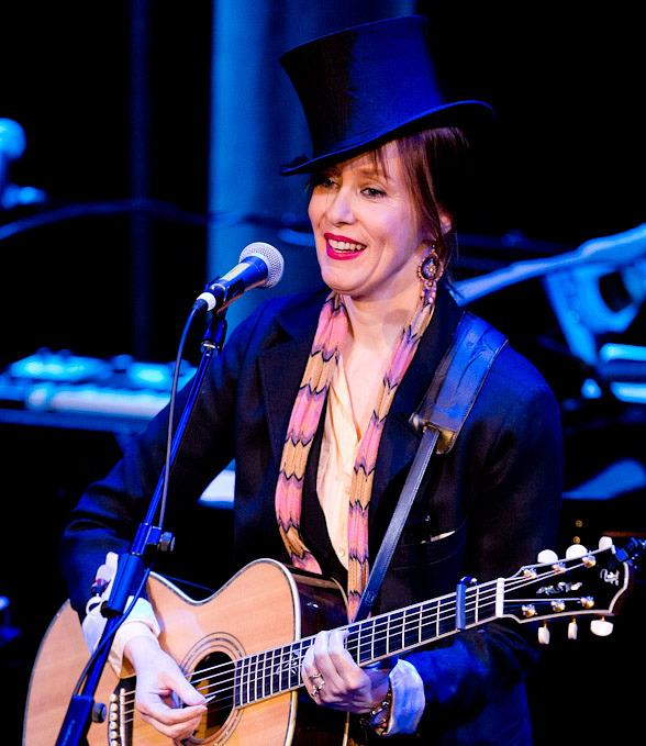 Suzanne Vega performs at The Smith Center in Las Vegas