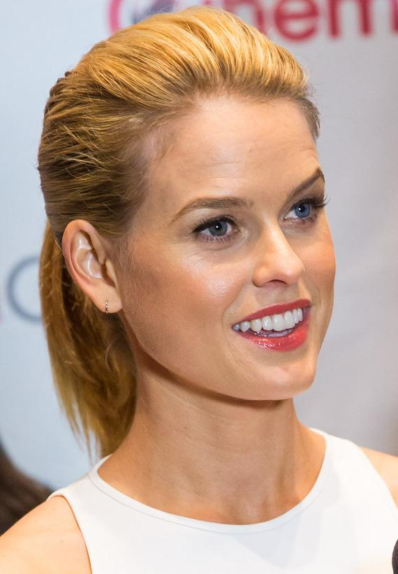 Alice Eve of Star Trek Into Darkness