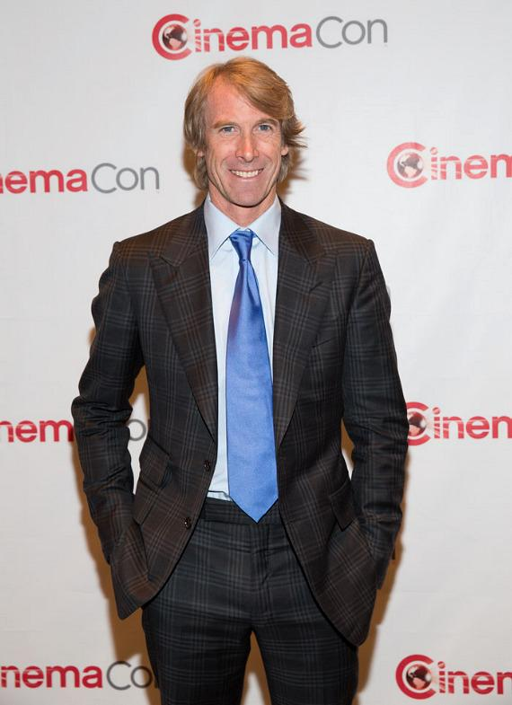 "Director Michael Bay from ""Pain & Gain"""