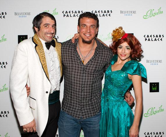 The Gazillionaire, Frank Mir and ABSINTHE cast member