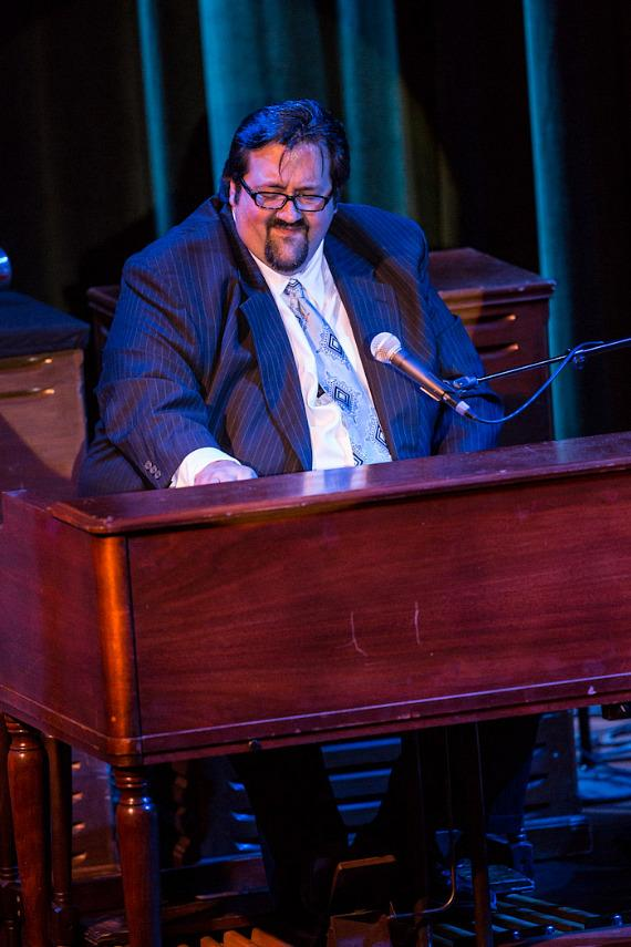 The Joey DeFrancesco Trio performs at Cabaret Jazz at The Smith Center for Performing Arts
