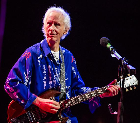 Robby Krieger of The Doors performs at Aliante Station