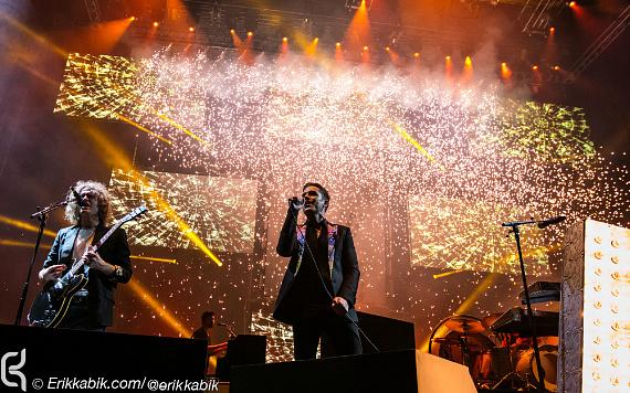 The Killers perform at T-Mobile Arena