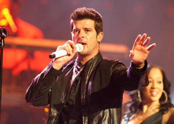 Robin Thicke during a previous performance at The Pearl at Palms Casino Resort