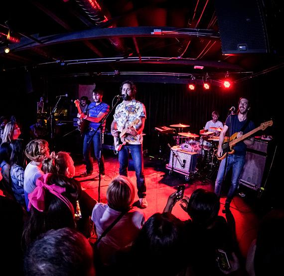 Big Talk performs at The Bunkhouse Saloon in Las Vegas