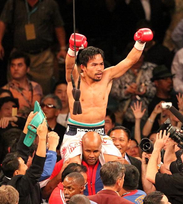 Pacquiao KO's Hatton in Two Rounds at MGM Grand