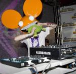 Deadmau5 performs at Encore Beach Club as his popularity steadily exploded during 2011