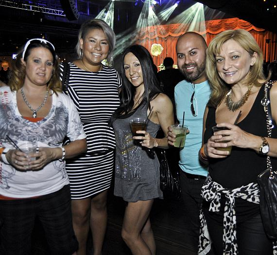 Guests at Las Vegas Weekly Music Issue Showcase