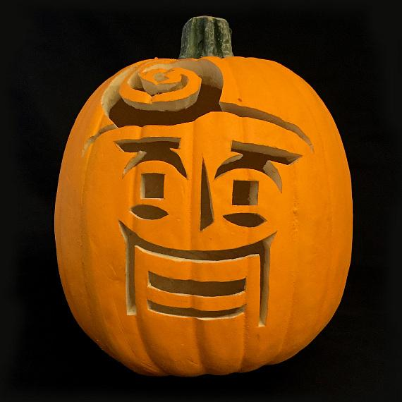 Pumpkin Carving with Terry Fator's Famous Characters