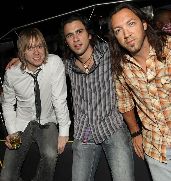Lifehouse band members Bryce Soderberg, Jason Wade and Ben Carey
