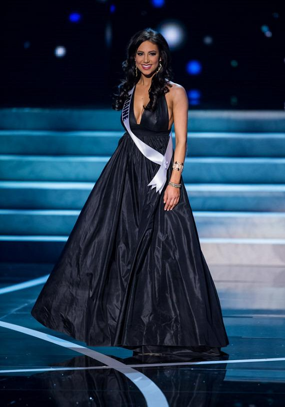 Miss Maine in Miss USA 2013 evening gown competition