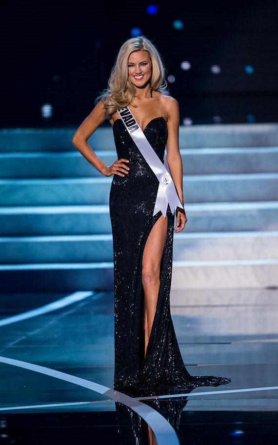 Miss Nevada in Miss USA 2013 evening gown competition