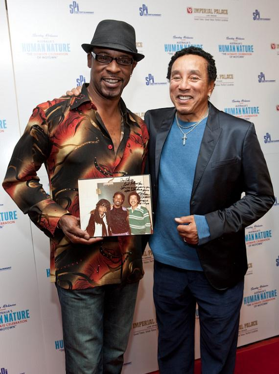 Skip Martin and Smokey Robinson