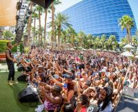 B.o.B Performs at REHAB Pool Party at Hard Rock Hotel