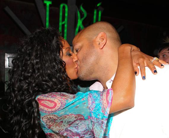 Mel B with husband Stephan Belafonte at TAO