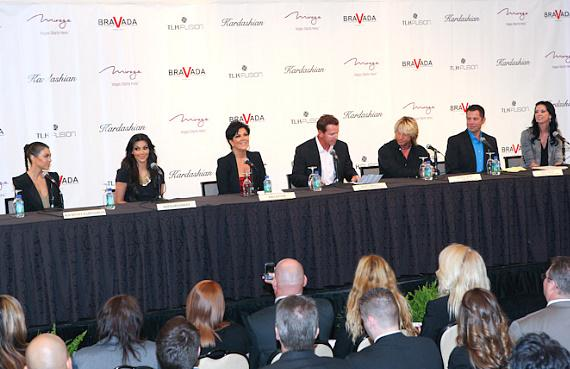 Kardashian Khaos press conference