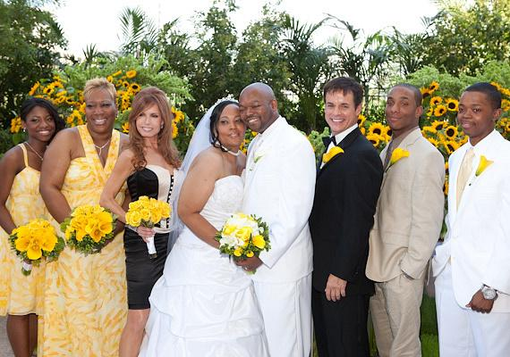 Charlene Lee and Willy Williams from Bronx, New York, get married
