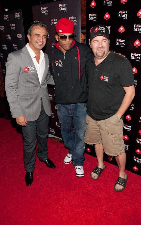 Hachem, Nelly and Chris Moneymaker