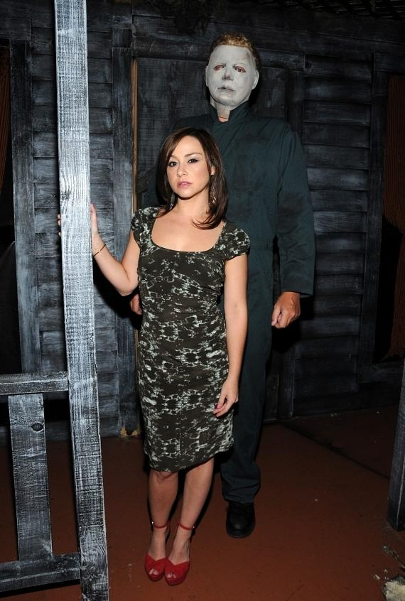 Danielle Harris Visits Fright Dome