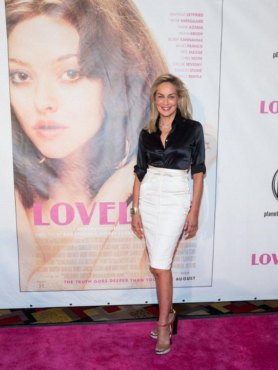 "Sharon Stone at ""Lovelace"" Premiere in Planet Hollywood Las Vegas"