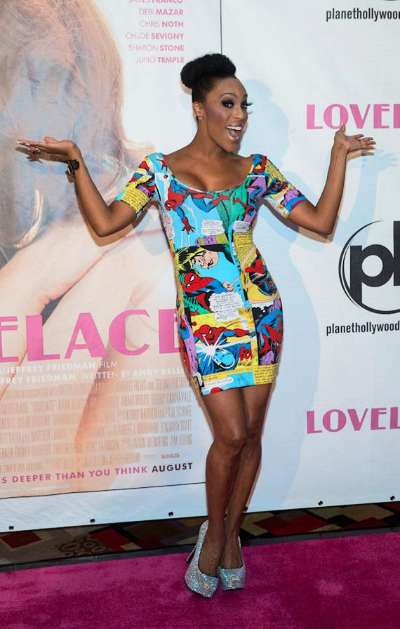 "Peepshow star Cheaza at ""Lovelace"" Premiere in Planet Hollywood Las Vegas"