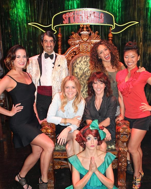 Véronic and the Voicettes Get a Taste of 'Absinthe' in Las Vegas