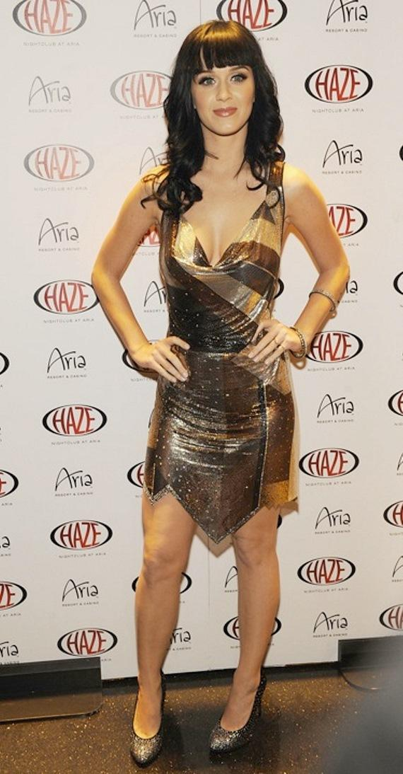 Katy Perry hosted at HAZE Nightclub at ARIA