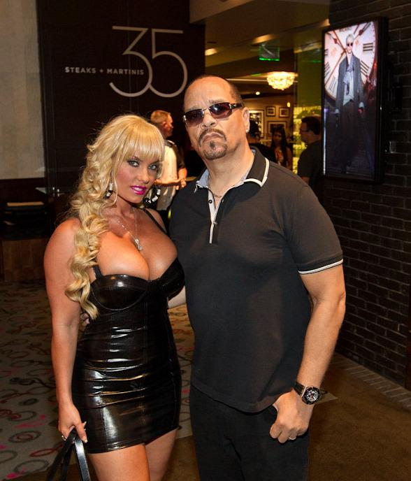 Ice-T and Coco Dine at 35 Steaks + Martinis in Hard Rock Hotel