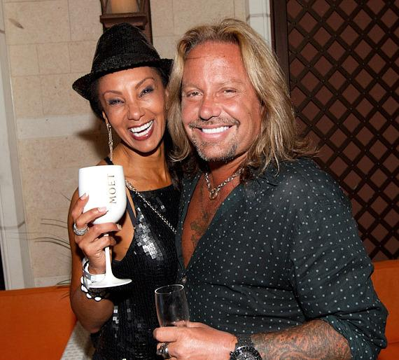 Downtown Julie Brown with Vince Neil