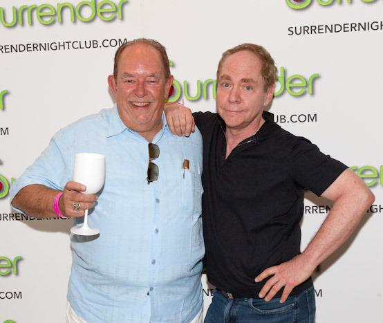 Robin Leach and Teller at Surrender Nightclub