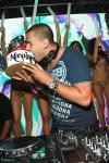 Afrojack with birthday cake at Surrender Nightclub