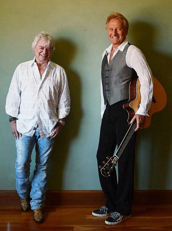 Air Supply members Graham Russell and Russell Hitchcock