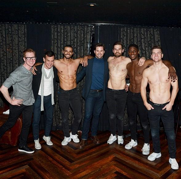 """Recording Artist Andrew Rannells Attends """"Magic Mike Live"""" at Hard Rock Hotel Las Vegas"""