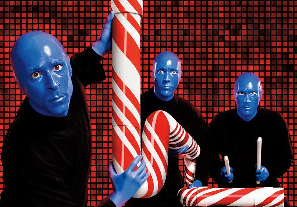 Blue Man Group Celebrates Holidays with Two-for-One Tickets for Nevada Residents