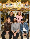 Backstreet Boys Celebrate Grand Opening of Sugar Factory American Brasserie at Fashion Show