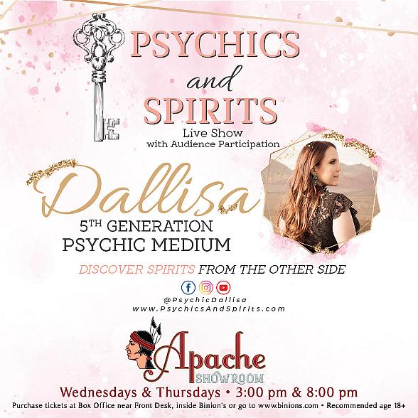 """Binion's Gambling Hall Announces New Entertainment with """"Psychics & Spirits: The Live Show"""""""