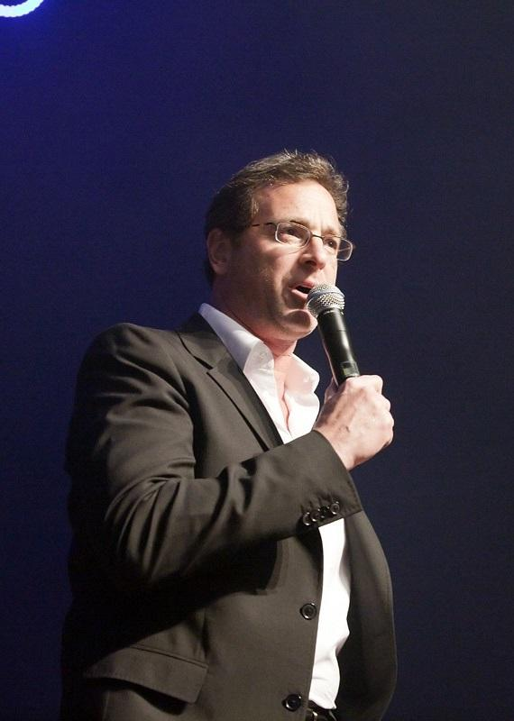 Bob Saget on stage