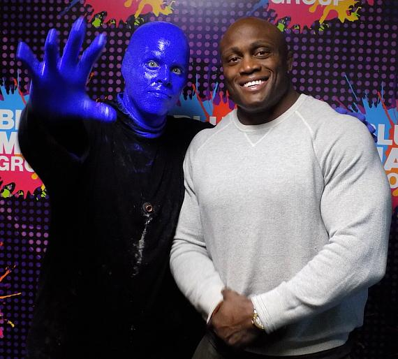 Bobby Lashley at Blue Man Group inu Las Vegas